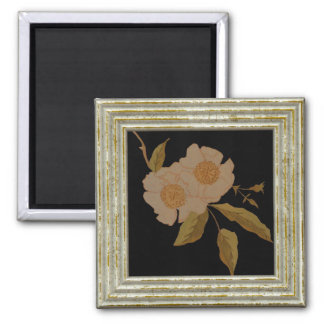Two Camellias Magnet