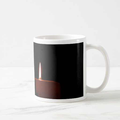 Two Candles Coffee Mug