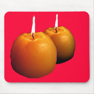 Two Candles Mousepad