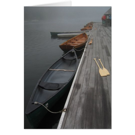 Two Canoes Card