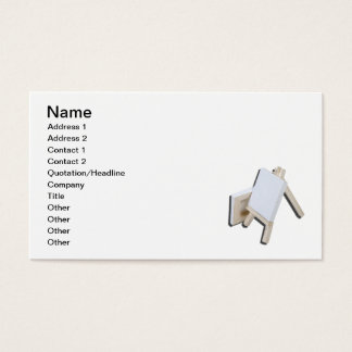 Two Canvas Easel Business Card