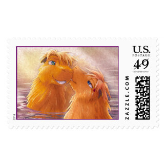 Two Capybaras Stamps