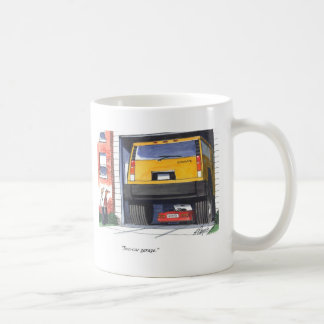 Two Car Garage Coffee Mug