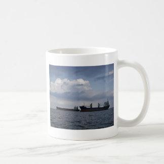 Two Cargo Ships Coffee Mug