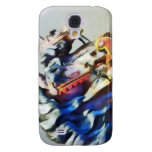 Two Carousel Horses Closeup Galaxy S4 Cover