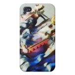 Two Carousel Horses Closeup iPhone 4/4S Covers
