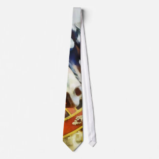 Two Carousel Horses Closeup Neck Tie