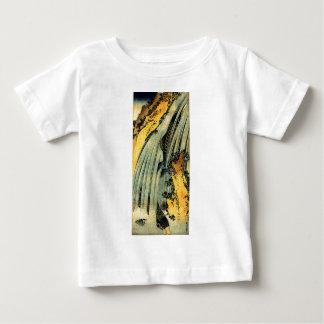 Two carp in a cascade by Katsushika Hokusai T Shirt