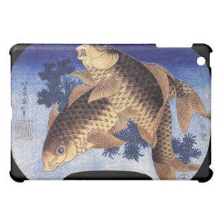 Two Carps Hokusai iPad Mini Cases