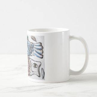 Two Carps in the Sky (animal symbolism) Coffee Mug