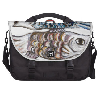 Two Carps in the Sky (animal symbolism) Commuter Bag