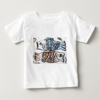 Two Carps in the Sky (animal symbolism) T Shirt