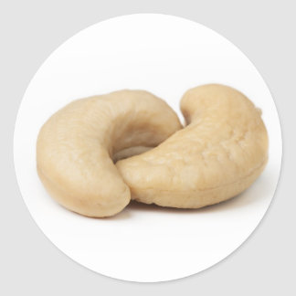 Two Cashews Classic Round Sticker
