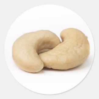 Two Cashews Classic Round Sticker