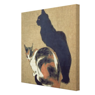 Two Cats, 1894 Canvas Print