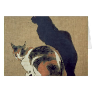 Two Cats, 1894 Card
