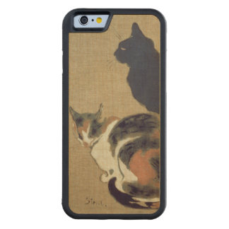 Two Cats, 1894 Carved® Maple iPhone 6 Bumper