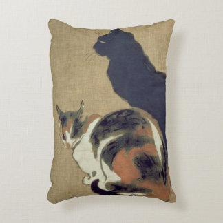 Two Cats, 1894 Decorative Pillow