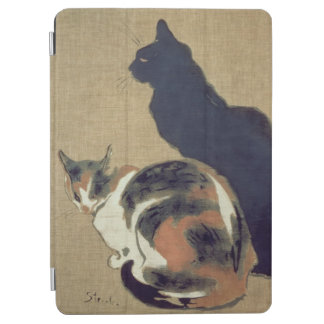 Two Cats, 1894 iPad Air Cover
