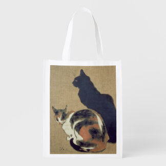 Two Cats, 1894 Market Totes