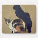 Two Cats, 1894 Mouse Pad