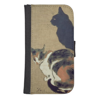 Two Cats, 1894 Phone Wallet