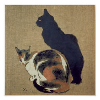 Two Cats, 1894 Print