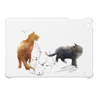 TWO CATS 2 - iPad MINI CASES