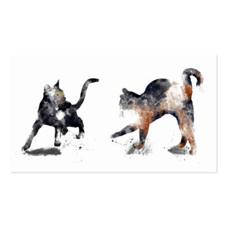 TWO CATS 3 - BUSINESS CARD