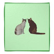 Two Cats Bandana
