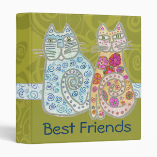 Two Cats Binder