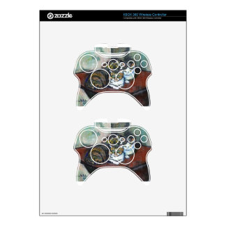 Two cats by Suzanne Valadon Xbox 360 Controller Skin