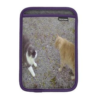Two Cats iPad Mini Sleeves