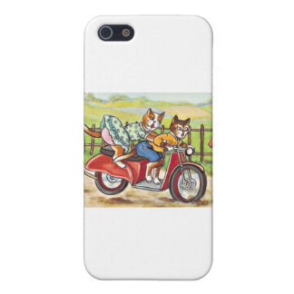 Two Cats On a Motorcycle iPhone 5 Case
