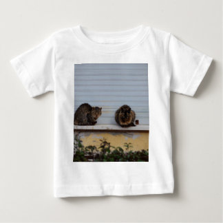 Two Cats On A Window Ledge Baby T-Shirt