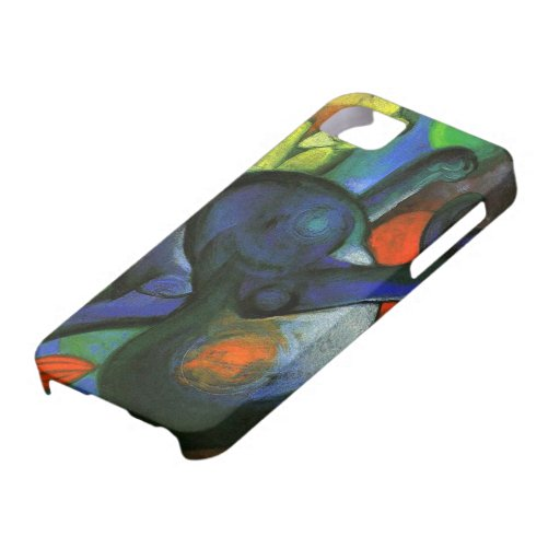 Two Cats Painting iPhone 5 Case