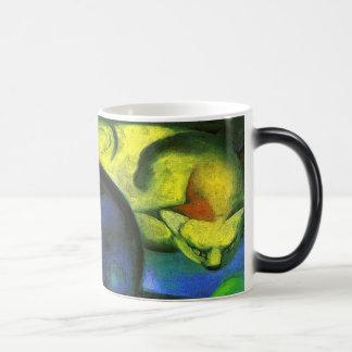 Two Cats Painting Magic Mug