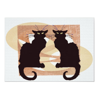 Two Cats Print Card
