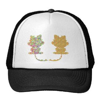 Two Cats Trucker Hat