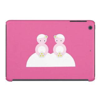 Two caucasian brides iPad mini retina cover