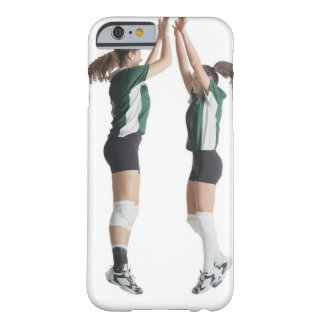two caucasian female volleyball players from the barely there iPhone 6 case