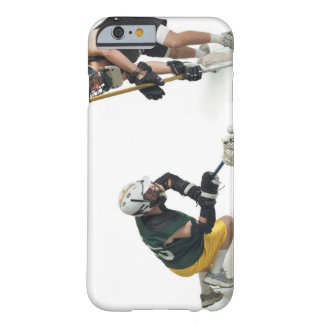 two caucasian male lacrosse players from 2 barely there iPhone 6 case