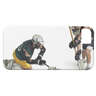 two caucasian male lacrosse players from 2 iPhone 5 covers