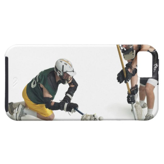 two caucasian male lacrosse players from 2 iPhone SE/5/5s case