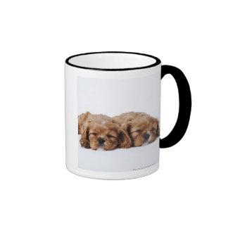 Two Cavalier King Charles Spaniel puppies Coffee Mugs