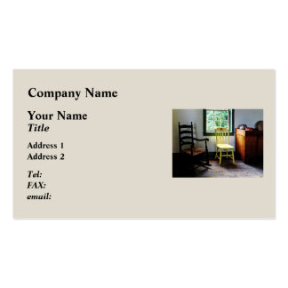 Two Chairs in Kitchen Double-Sided Standard Business Cards (Pack Of 100)