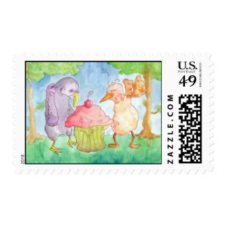 Two Characters In Search Of A Stamp