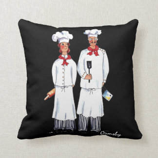 Two Chefs pillow