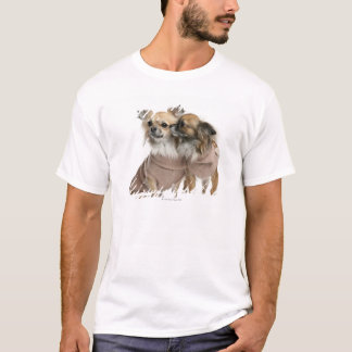 Two Chihuahuas dressed (2 years old) T-Shirt