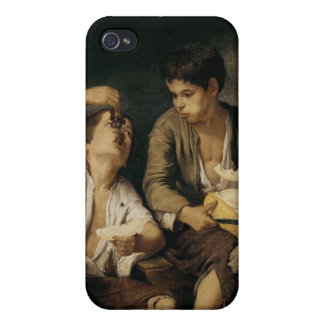 Two Children Eating a Melon and Grapes, 1645-46 Case For iPhone 4